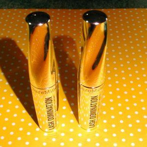 2x BARE MINERALS New LashDomination Volume Mascara
